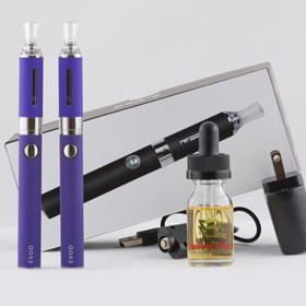 Purple Evod Vape Starter Kit FREE E-Juice