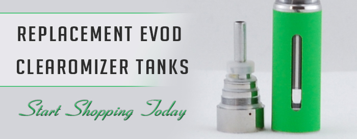 Replacement EVOD Clearomizer Tanks