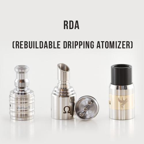 Vape Pen Mod Starter Kit with RDA